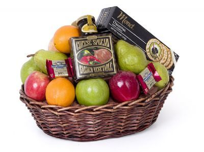 Fruit & Yummies Basket