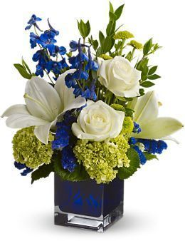 Serenade in Blue Bouquet