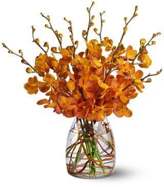 Orchid Embers Bouquet