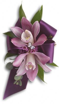 Exquisite Orchid Corsage