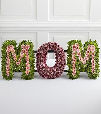 funeral floral arrangement for mom