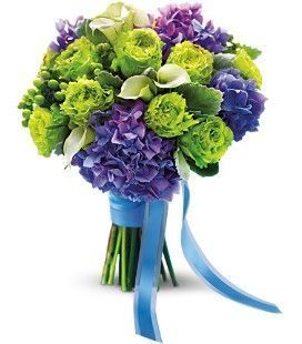 Luxe Lavender & Green Bouquet