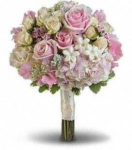 Pink Rose Spendor Bouquet