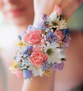 Spring Colours Wristlet