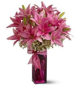 birthday lilies, birthday flower ideas, birthday gifts