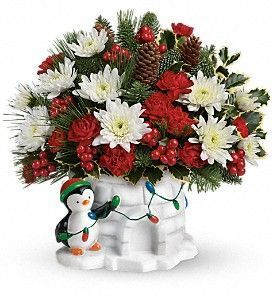 Send a Hug-Deck the Igloo Bouquet