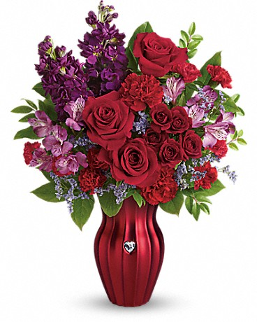 Teleflora Shining Heart Bouquet