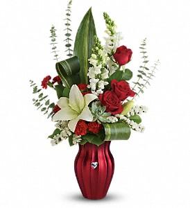 Teleflora's Hearts Aflutter Bouquet