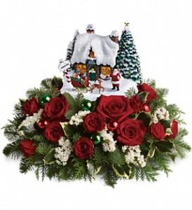 Thomas Kinkade Santa's Workshop Bouquet
