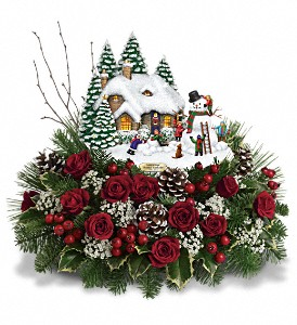 Thomas Kinkade Winter Wonder Bouquet