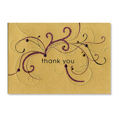 Papyrus Thank You Card